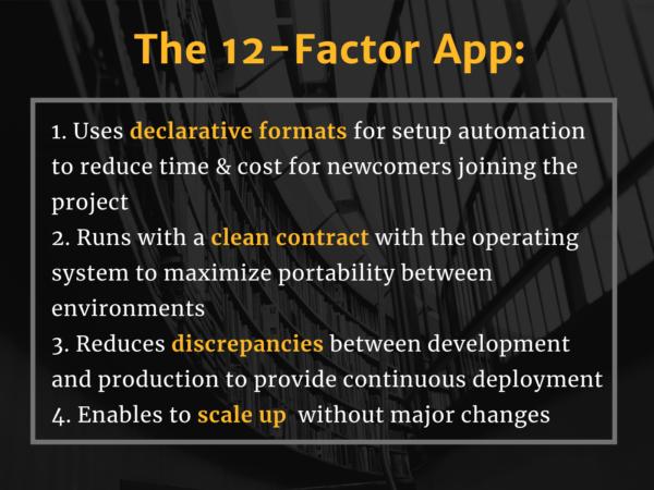 12factor app